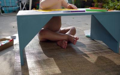 """Un bureau de """"petit yogi"""". (DIY)"""